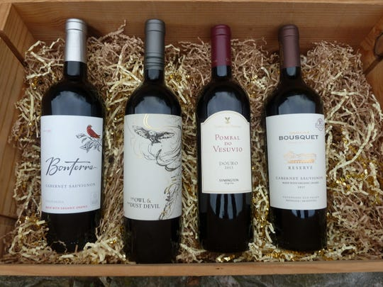 The Owl & the Dust Devil, second from the left, is a favorite of wine critic Gina Birch.