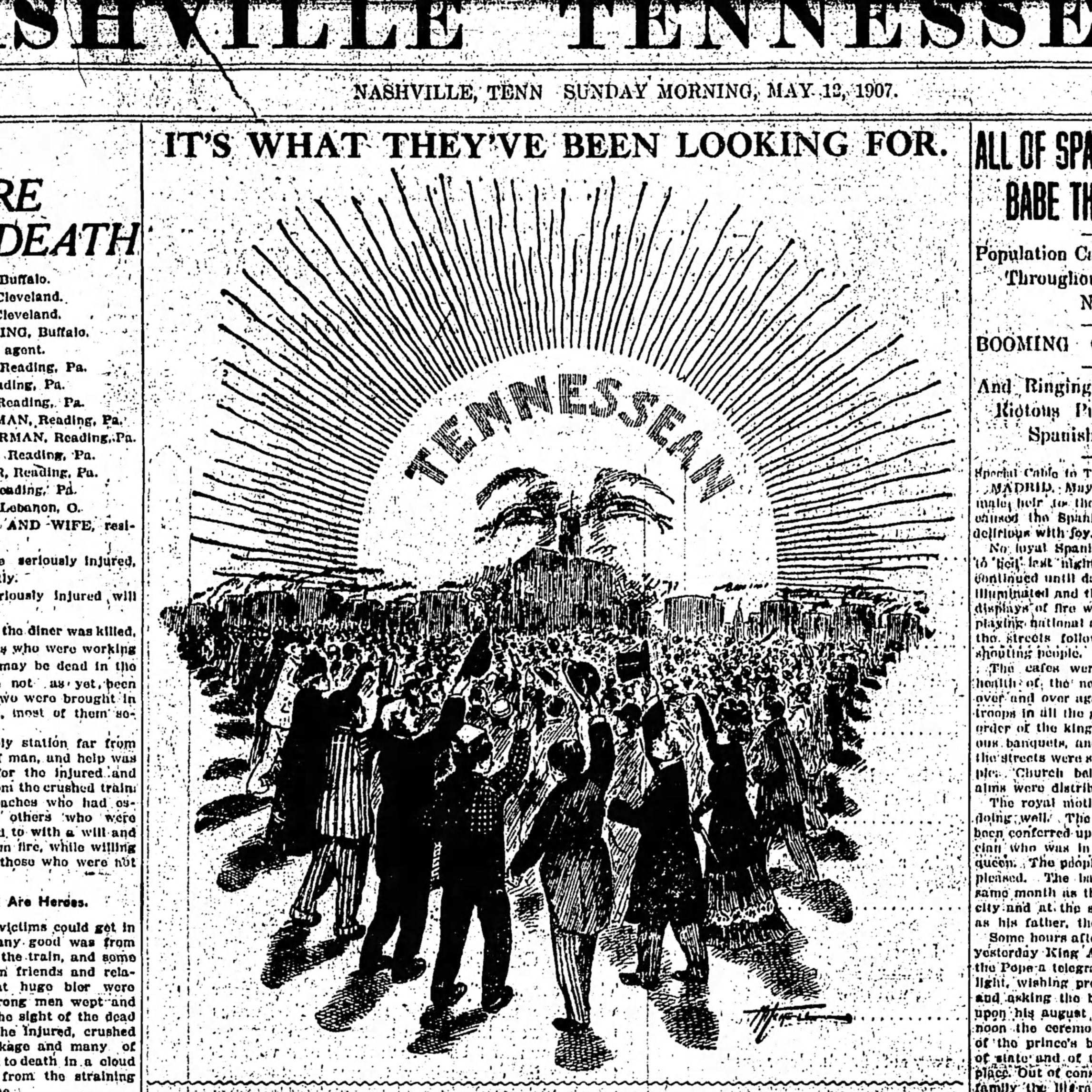 'What they've been looking for': A look at The Tennessean's past