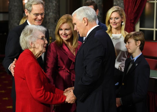News Marsha Blackburn Swearing In Ceremony
