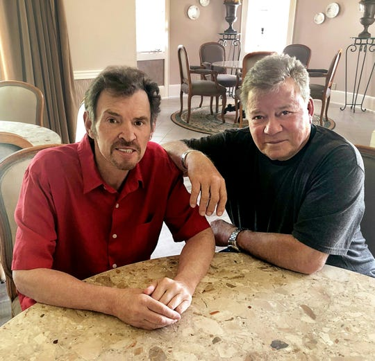 Jeff Cook, left, and William Shatner