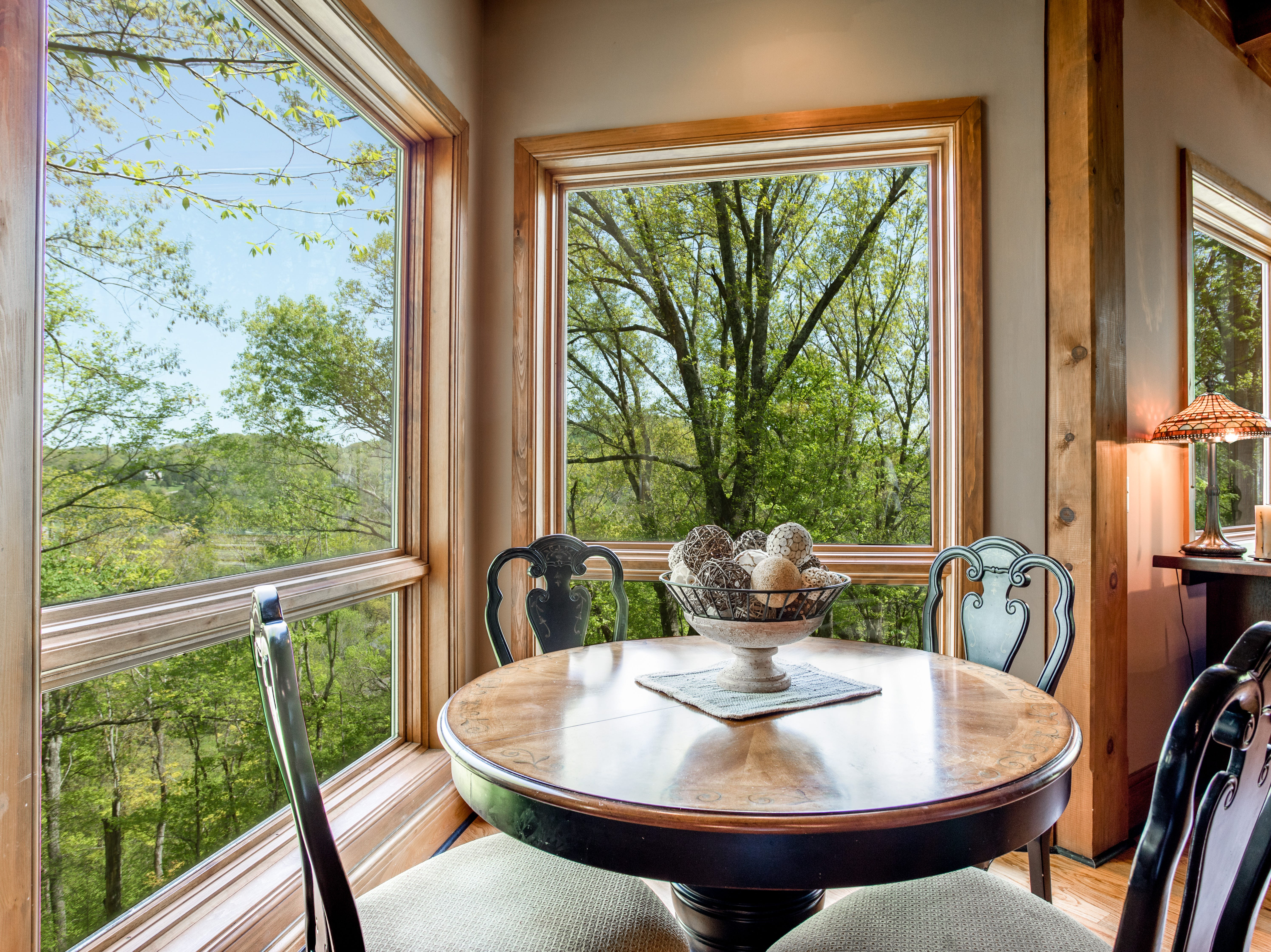 Another example of the views from this home, which has massive windows to maximize the views.