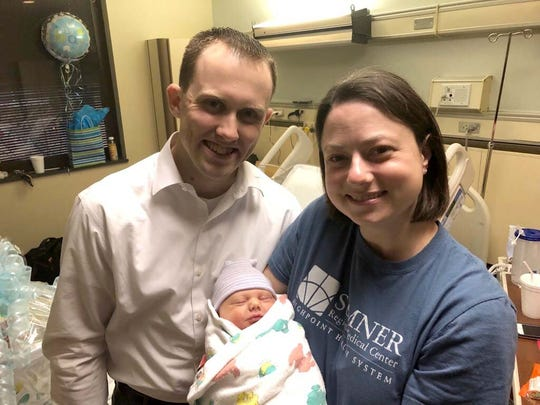 Isaiah Crider was the first baby born in 2019 at Sumner Regional Medical Center in Gallatin. Parents Ian and Brittany Crider welcomed their son at 3:20 p.m. Jan. 1.