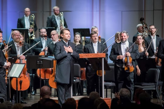 Andrey Boreyko and the Naples Philharmonic at the opening 2018-19 Masterworks concert