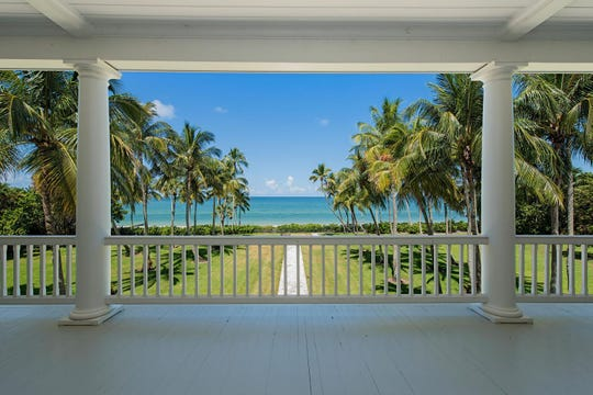 This beachfront home at 2500 Gordon Drive in Port Royal was the most expensive home sale for Collier County in 2018.