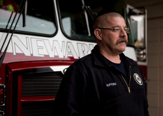 Jason Hufford, a Newark firefighter was diagnosed with PTS last year. He sought treatment and worked with the Save A Warrior to get better. Hufford has been vocal about his diagnosis to help end the stigma of PTS.
