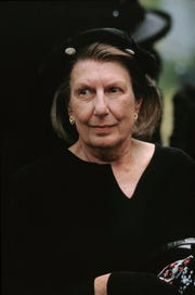 Actress Nancy Marchand plays Livia Soprano.