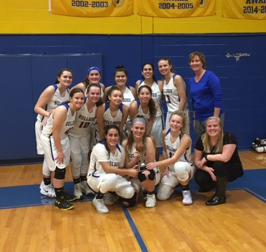 The Butler girls basketball team captured their own Butler Holiday Tournament last week. The Bulldogs defeated Pompton Lakes in the finals.