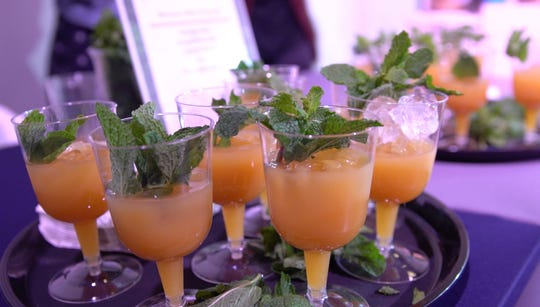 Mocktails laced with CBD at cannabis event hosted by Canna Pop-Up