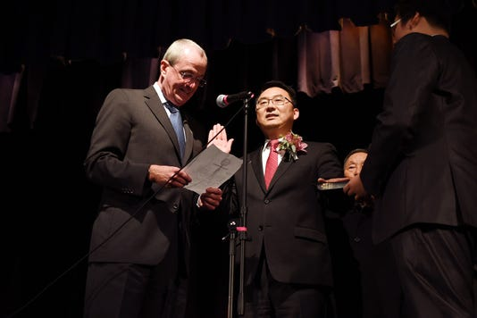 First Korean American Sworn In As Mayor