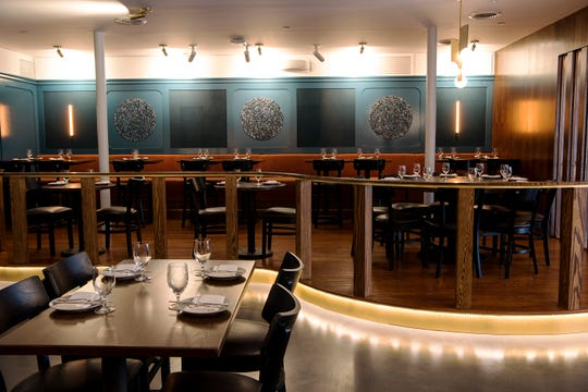 Interior of Montclair Social Club in Montclair