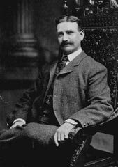 "L. Frank Baum, author of ""The Wonderful Wizard of Oz"""