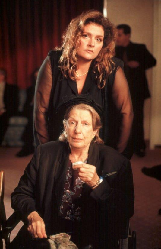 Nancy Marchand and Aida Turturro