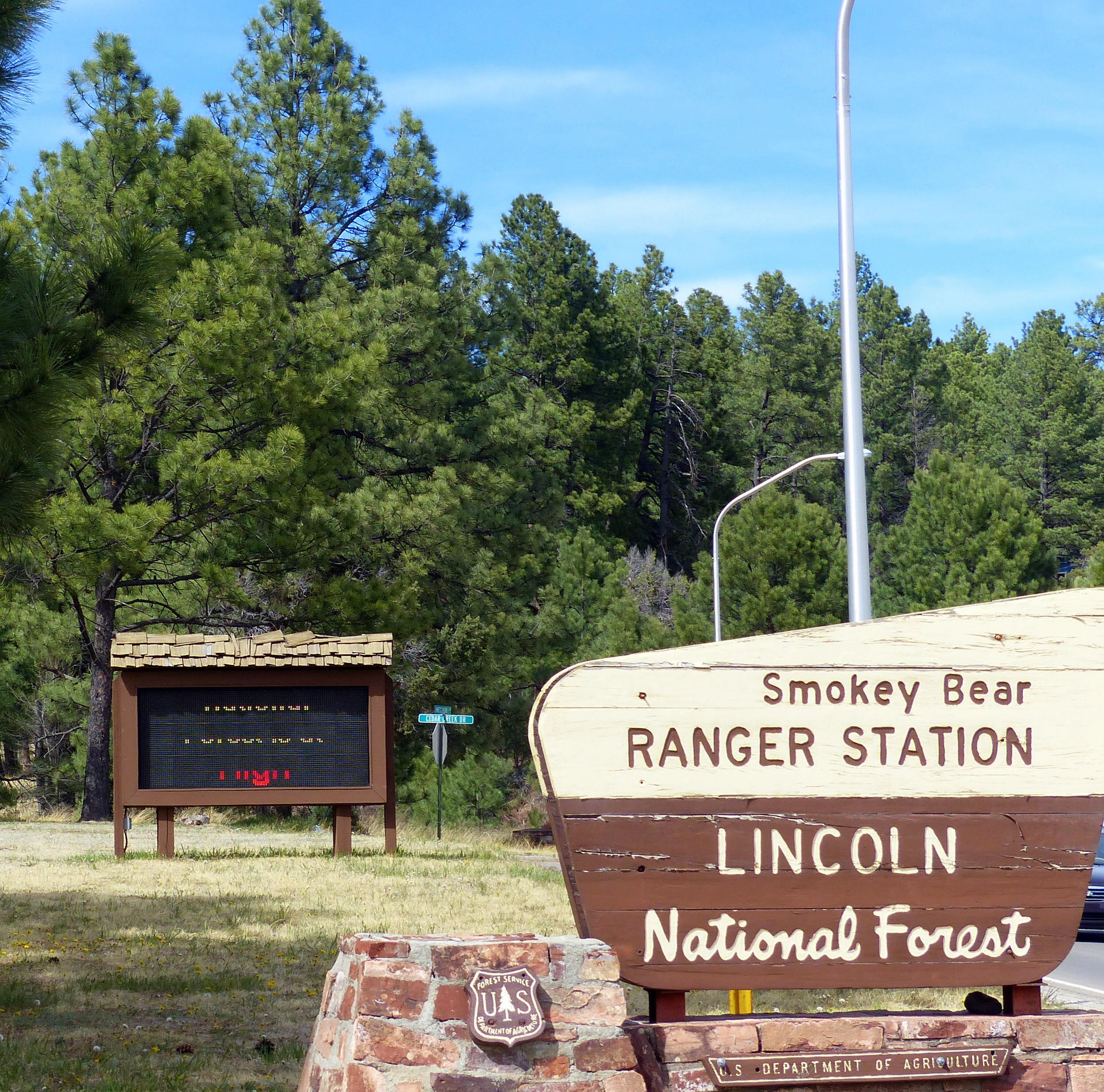 Camping sites open in Lincoln National Forest
