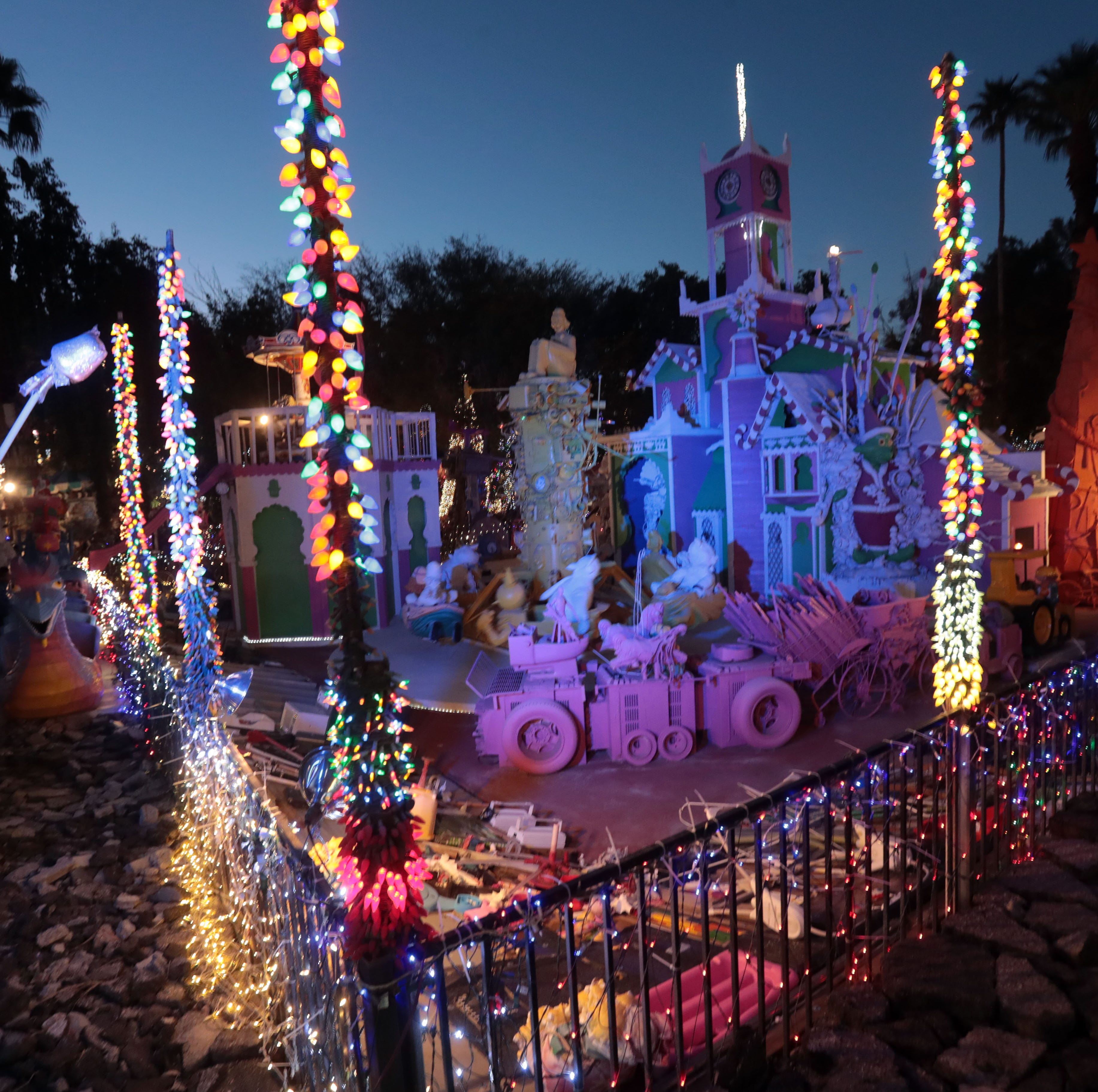 Robolights will leave Palm Springs this holiday season and head to a different state