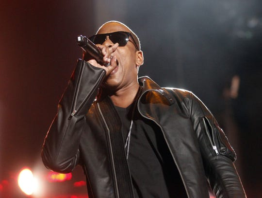 Jay-Z performs at the 11th annual Coachella Valley Music & Arts Festival in Indio, Cali., Friday April 16, 2010.