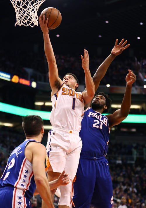 b3f367ee2 Who deserves the NBA All-Star nod  Devin Booker or Lonzo Ball