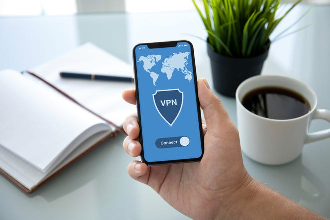 Using a VPN essentially creates a tunnel between you and the websites you are connecting to, which keeps anyone else from seeing the information that you are sending over the network.