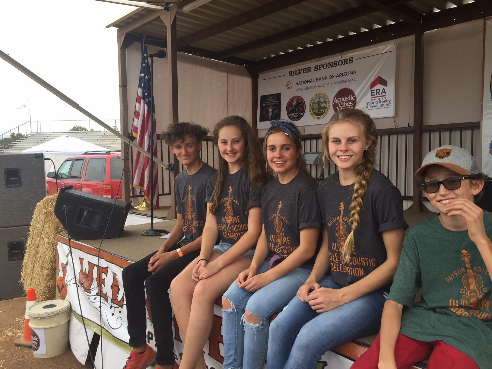 Copper Wren (left to right): Will MacDonald, 17; Alivea Addleman, 14; Ava Addleman, 18; Angel Addleman, 17; Lee MacDonald, 14.
