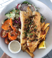 The Slapfish grilled fish.
