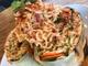 The Slapfish lobster ramen burrito.