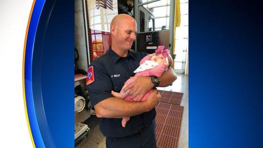 Jeremy West Firefighter
