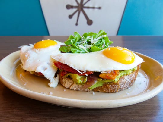 The Bravocado Toast at Snooze, an A.M. Eatery.