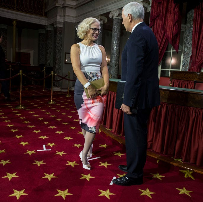 Isn't it time to stop talking about Kyrsten Sinema's inauguration dress?
