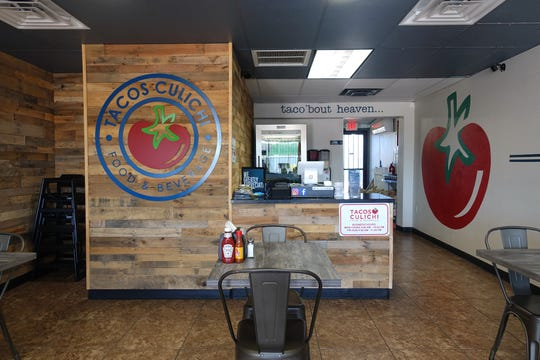 The interior of Tacos Culichi, a new Sinaloan taco shop in Phoenix.
