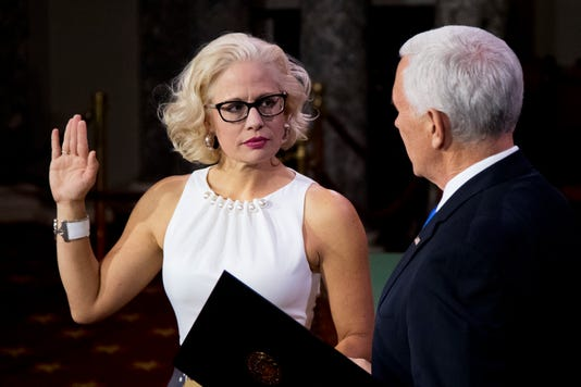 Kyrsten Sinema Mike Pence