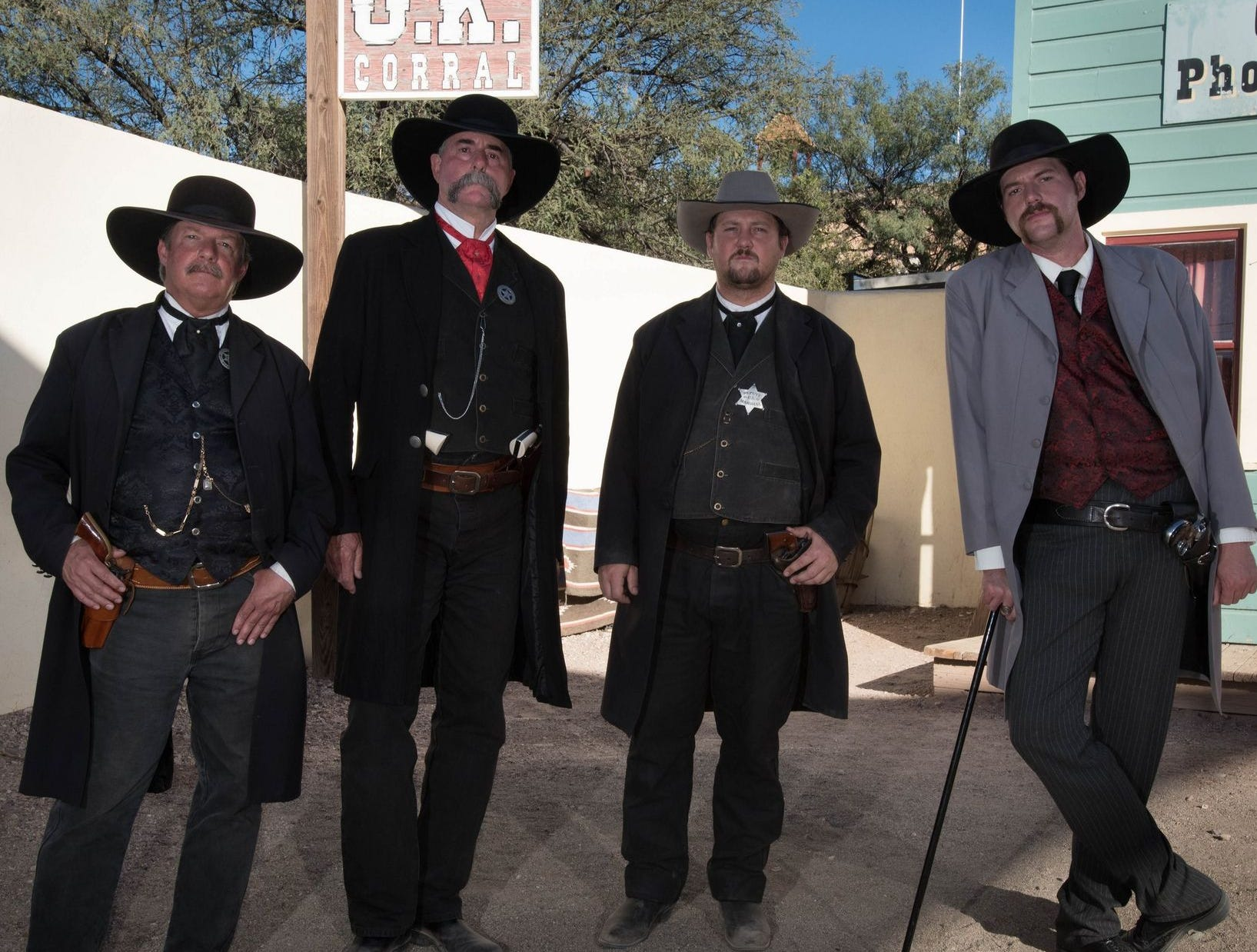 El tiroteo más famoso del Viejo Oeste se representa a diario en el O.K. de Tombstone. Corral.