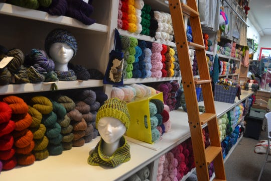 Crafty Needle boasts hundreds of yarn and thread options in its historic downtown Elmore location