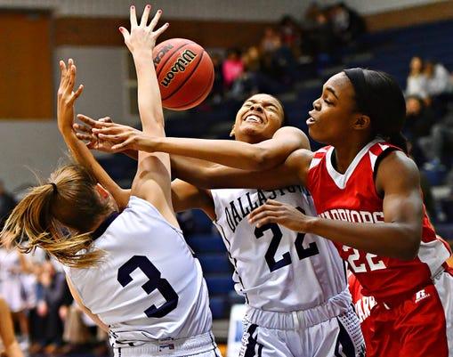 Susquehannock Vs Dallastown Girls Basketball