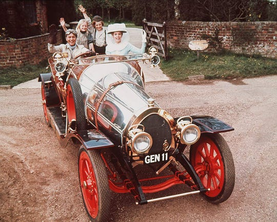 """Catch a free screening of """"Chitty Chitty Bang Bang"""" during First Friday York."""