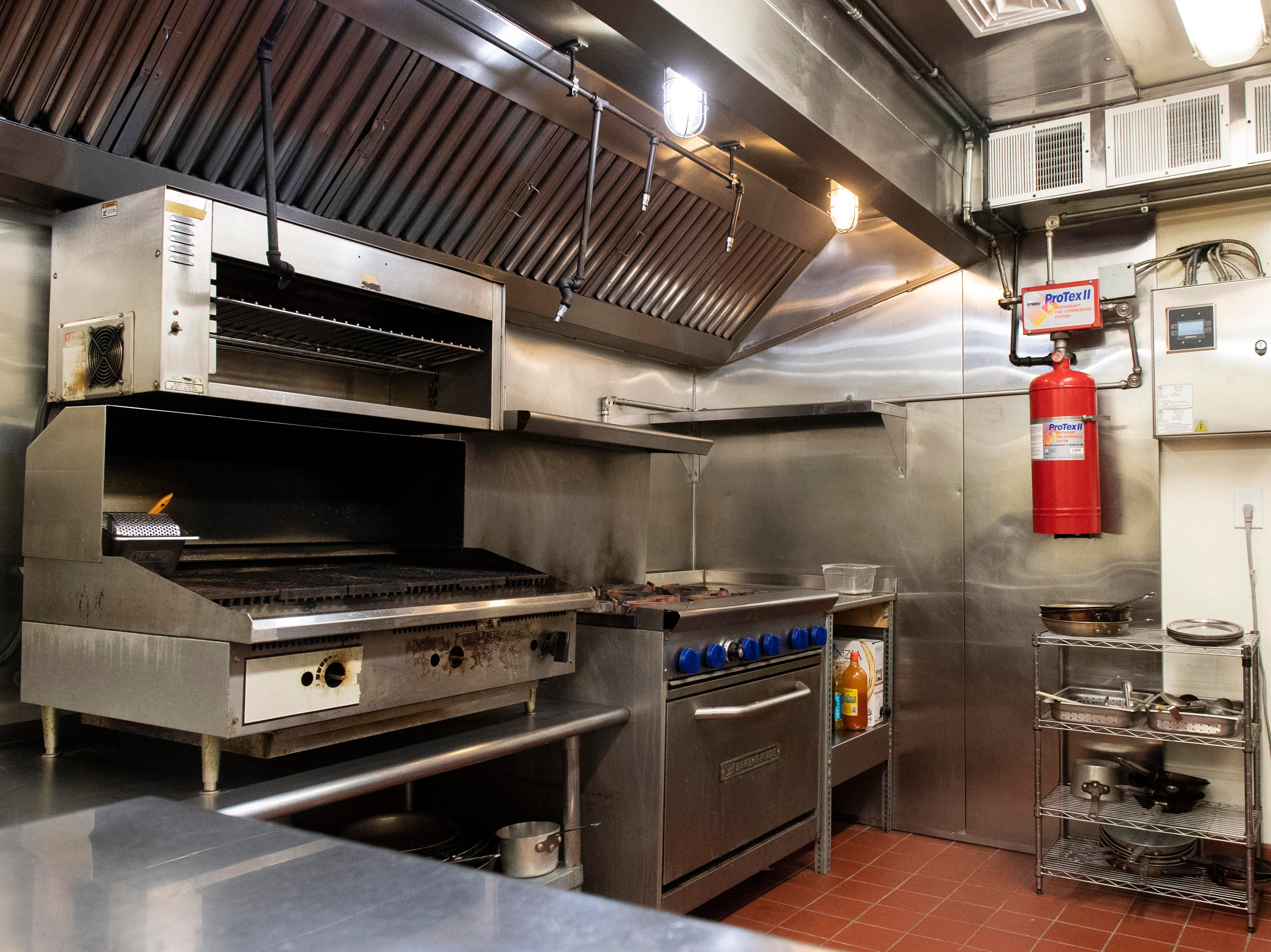 After getting his start in the restaurant business years ago as a dishwasher, Micheal McMonigle worked his way up to being an executive chef. Now, He's the owner and head chef at HomeGrown, which resides in the historic Frey Mansion. Seen here is his kitchen, Thursday, Jan. 3, 2019. The restaurant is set to open on Jan. 10, with an American-style menu with a French twist. It's also BYOB.