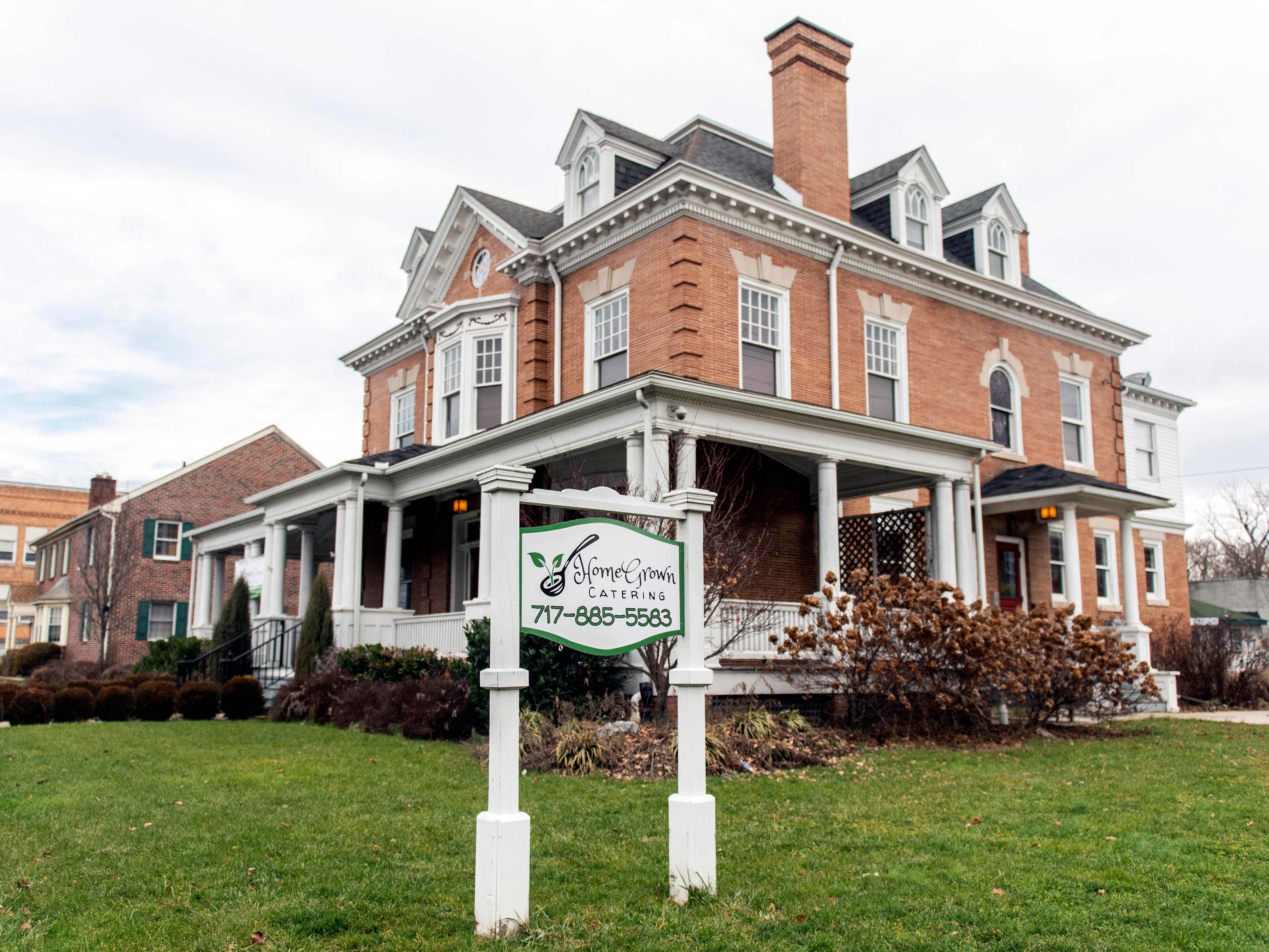 HomeGrown Catering, which operates out of the historic Frey Mansion in York, is a new restaurant set to open Jan. 10.  It will American-style menu with a French twist. It's also BYOB.