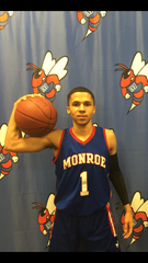 Monroe guard Fidel Brock