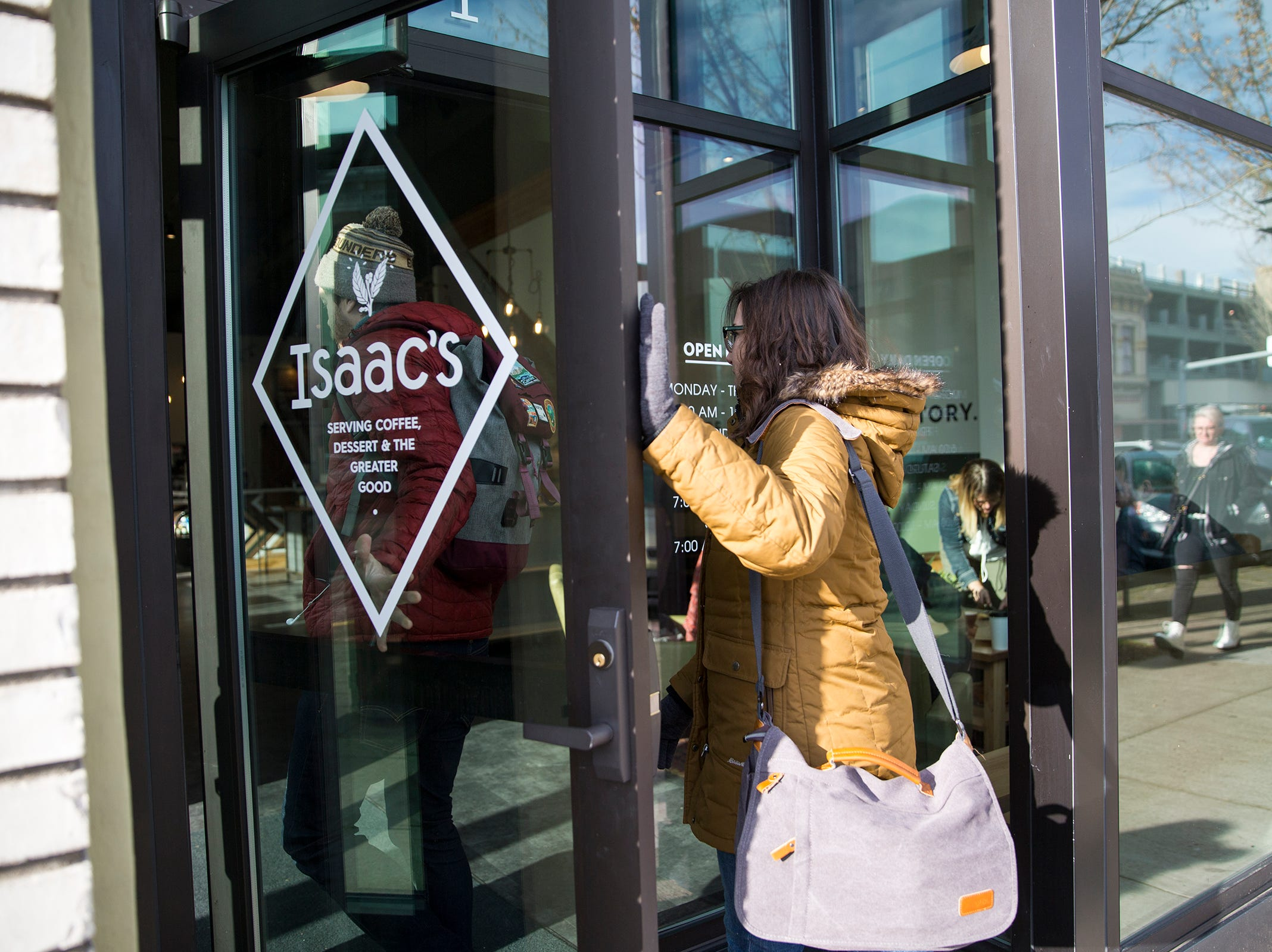 Isaac's Downtown, a new café in downtown Salem on Wednesday, Jan. 2, 2019. The coffee shop is from the owners of IKE Box and Isaac's Room.