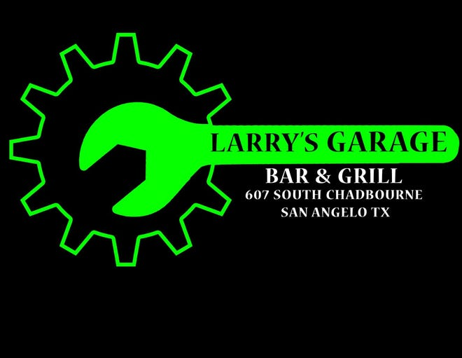 The logo for Larry's Garage Bar & Grill, 607 S Chadbourne, was designed by Jose Madera.