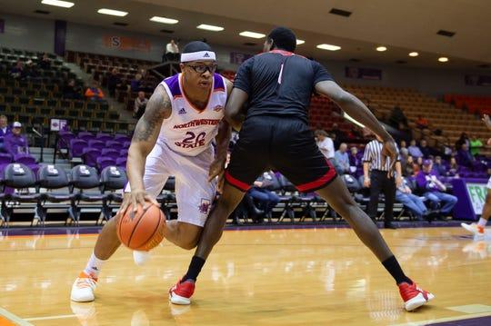 Northwestern State and Ishmael Lane fell to Lamar on Wednesday.