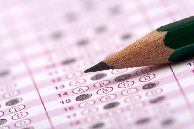 standardized testing stock image