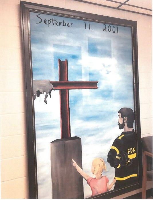 Camden County 'religious displays'