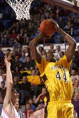 Kickapoo graduate Anthony Tolliver shown during a past Tournament of Champions game.