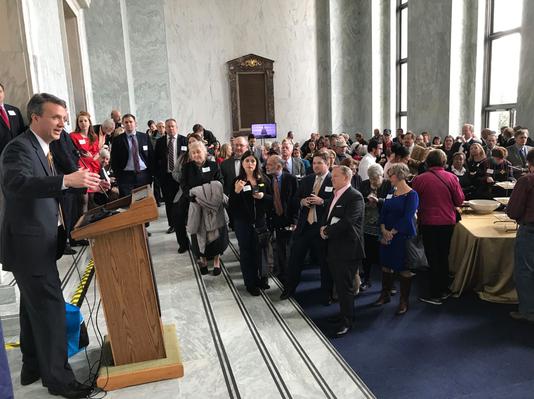 Ben Cline addresses constituents