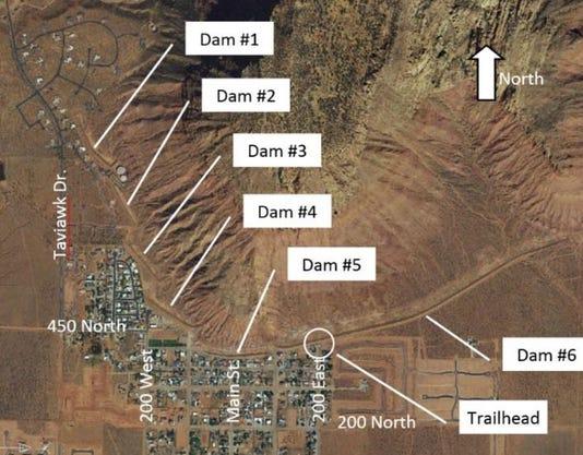 Ivins Dams