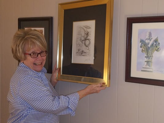curator keeps passion for art front and center