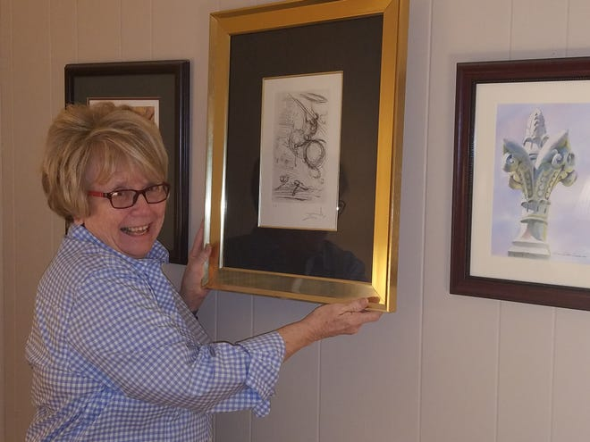 Barbara Cohenour  is curator of the Tallahassee Community College's Fine Art Gallery, where a new exhibit by artist Mark Fletcher opens on Thursday.
