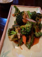 Broccoli with garlic sauce at Shandong Noodle House in Vero Beach.