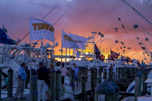 Stuart Boat Show Tiara Yachts 1030x687