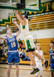 Drake London helped lead a big turnaround for the Moorpark High basketball team.