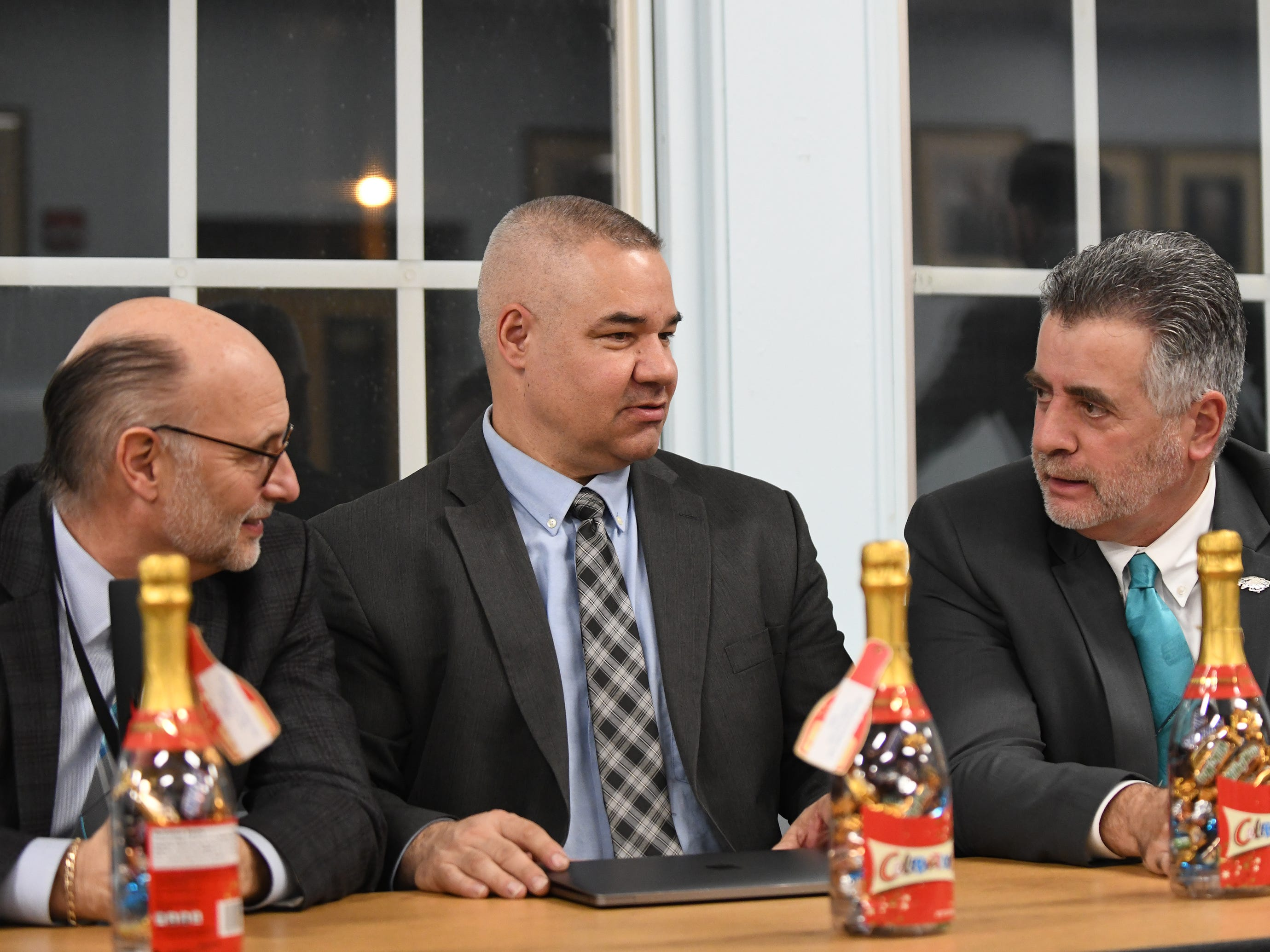 The Vineland Board of Education held a reorganization meeting on Wednesday, January 2, 2019.